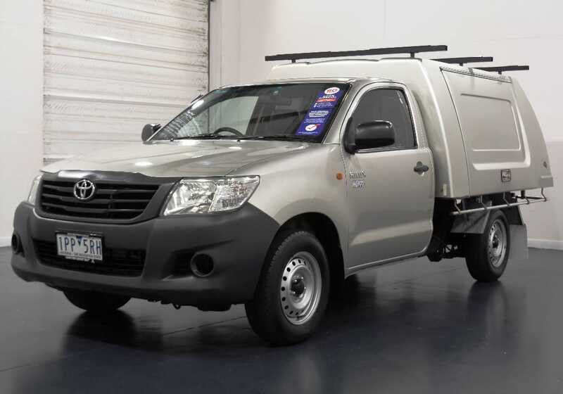 2013 Toyota Hilux Workmate