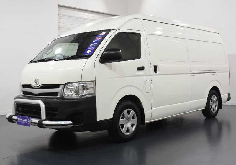 2012 TOYOTA HIACE KDH221R MY11 UPGRADE