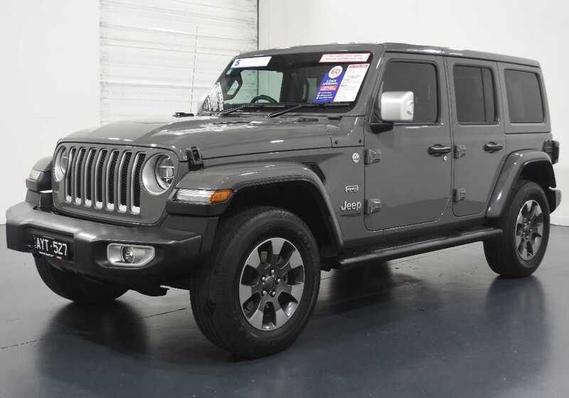 2019 Jeep Wrangler Unlimited Overland (4x4)