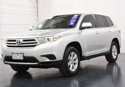 2012 Toyota Kluger Kx-r (fwd) 5 Seat