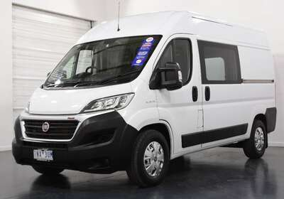 2018 Fiat Ducato Mwb Low Roof Comport-matic