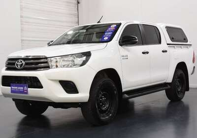 2018 Toyota Hilux Workmate (4x4)
