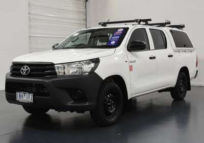 2018 Toyota Hilux Workmate Double Cab 4x2