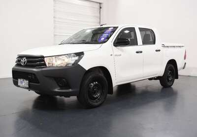 2016 Toyota Hilux Workmate