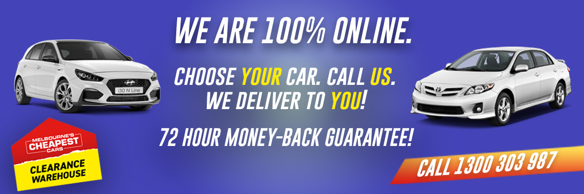We are 100% Online